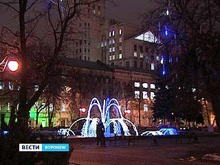 В праздники на ночном освещении Воронежа экономить не будут