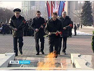 В преддверии Дня защитников Отечества почтили память погибших героев