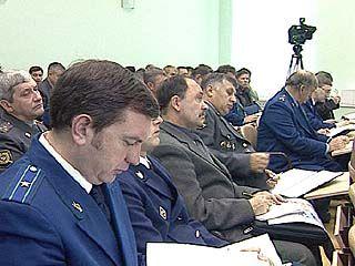 В прокуратуре обсуждают тему банкротства