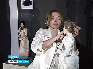 """В Рамонском дворце открылась выставка портретных кукол """"Ольденбургские. Образы прошлого"""""""