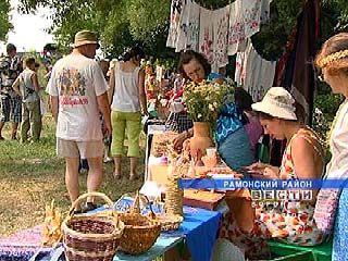 В Рамонском районе прошел фестиваль народного творчества