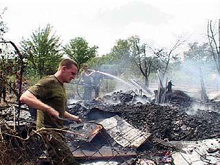 В Рамонском районе сгорело 20 дачных домов