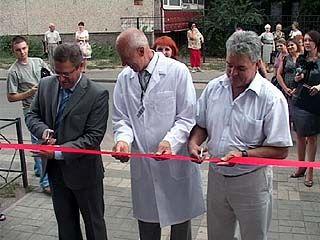 В районе остановки Полины Осипенко открылась новая поликлиника