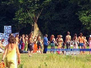 В районе села Ольховатка проходит ежегодная встреча хиппи