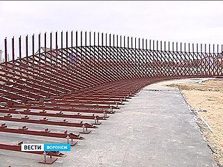 В Репном приступили к строительству мобильного велодрома