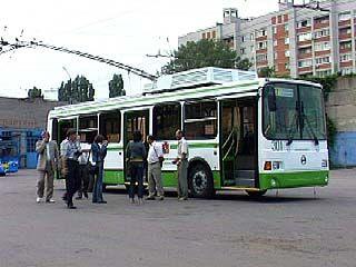 В рейс выходят первые новые воронежские троллейбусы