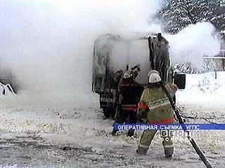 В результате пожара ожоги лица и рук получили 2-е мужчин