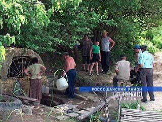 В Россошанском районе группа энтузиастов облагородила родник