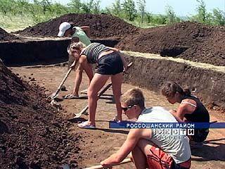 В Россошанском районе прошел слёт археологов