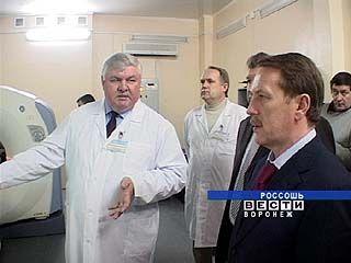 В Россошанской районной больнице открылось первичное сосудистое отделение