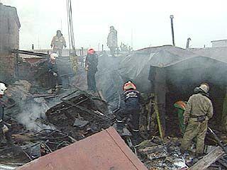 В Россоши оценивают ущерб, который нанес огонь заводу химудобрений