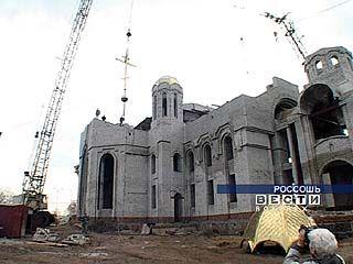 В Россоши возводится Свято-Ильинский храм