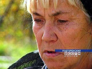 В руинах Подгоренского общежития проживает женщина
