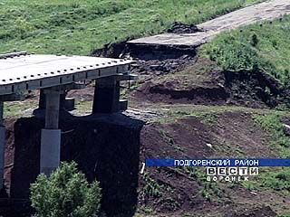 В селе Белогорье не могут отремонтировать мост
