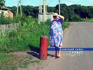 В селе Новонадежденское не хватает сжиженного газа