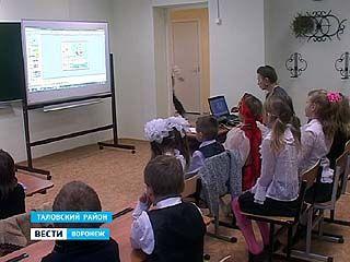 В селе Орловка Таловского района капитально отремонтировали школу