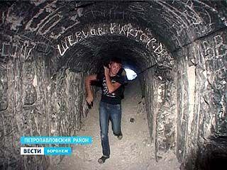 В селе Пески Петропавловского района открыли вход в пещерную церковь