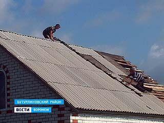 В селе Пузево буря свирепствовала особенно сильно
