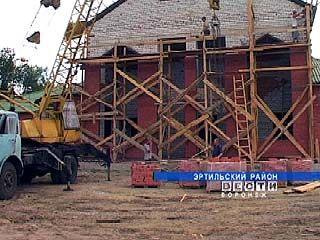 В селе Ростоши началось строительство клуба