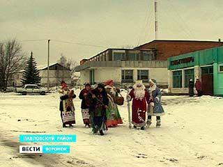 В селе Русская Буйловка святочную неделю проводят со старыми обрядами