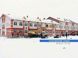 В селе Шувалов Павловского района строится новая школа