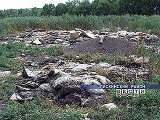 В селе Средний Икорец ведут борьбу с неприятным запахом