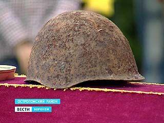 В селе Сторожевое Острогожского района перезахоронили останки советских солдат