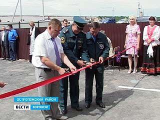 В селе Урыв-Покровка Острогожского района торжественно открыли пожарную часть