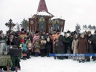 В селе Варваровка возвели часовню