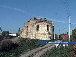 В селе Верхний Карабут восстанавливают храм