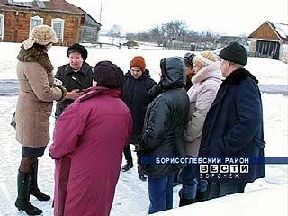 В селе Воскресёновка добрососедские отношения испортил газ