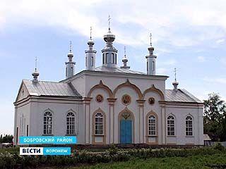 В селе Ясенки Бобровского района восстанавливают храм
