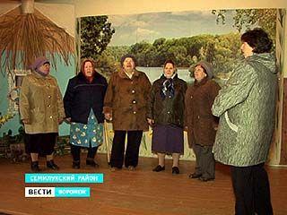 В Семилукском районе артисты отменили концерт из-за холода в доме культуры