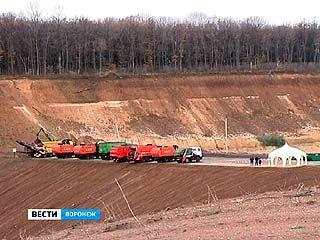 В Семилукском районе заработал новый полигон по утилизации ТБО