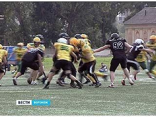 В сентябре в Воронеже появилась федерация американского футбола