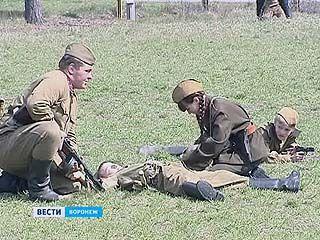 В Шуберском реконструировали наступление Красной Армии на фашистские войска