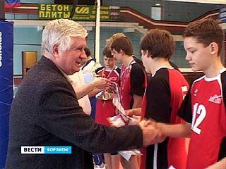 """В СК """"Кристалл"""" завершился юношеский волейбольный турнир"""