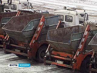 В Советском районе исчезли контейнеры для крупногабаритных отходов