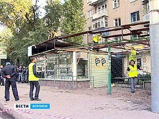 В Советском районе Воронежа демонтировали очередной киоск