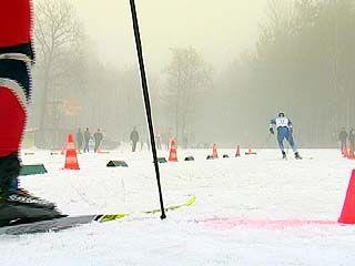 """В спорткомплексе """"Олимпик"""" стартовал чемпионат ЦФО по лыжным гонкам"""