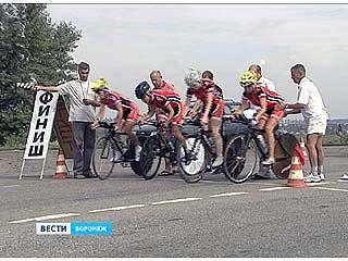В столице Черноземья финишировал чемпионат России по велоспорту