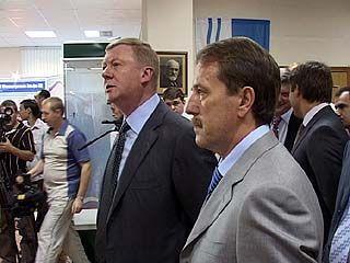 В столицу Черноземья прибыл Анатолий Чубайс