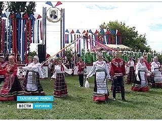 В Таловском районе пели песни в честь их собирателя - Митрофана Пятницкого