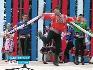 В Таловском районе прошел фестиваль Пятницкого
