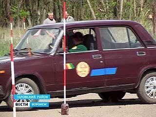 В Таловском районе прошёл турнир по виртуозному вождению
