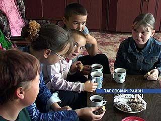 В Таловском районе проводится социальный эксперимент