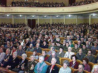 В Театре оперы и балета поздравляли воронежских ветеранов
