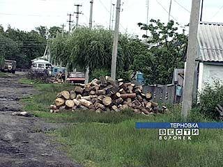 В Терновском районе по-прежнему пользуются печным отоплением