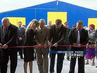 В Терновском районе появился новый молочный комплекс