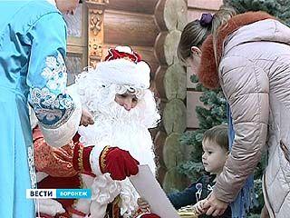 """В """"Центре Галереи Чижова"""" открыта резиденция Деда Мороза"""